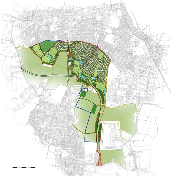 Fareham Masterplan - Click for larger image